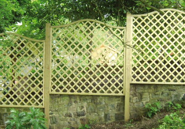 Lattice fencing panels - Your guide to metal fence panels for privacy and safety ...