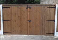 Double Tongue & Groove Gates